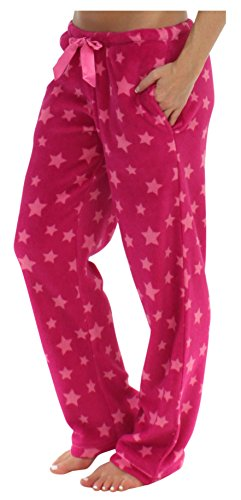 pajamamania-womens-plush-fleece-relaxed-fit-pajama-pj-pants-pink-stars-pmpfr1003-2043-2x