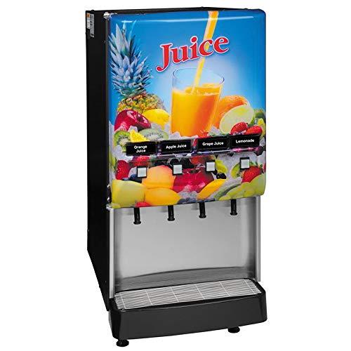 Bunn JDF-4S-0004 4-Flavor Cold Beverage System, Juice Displa