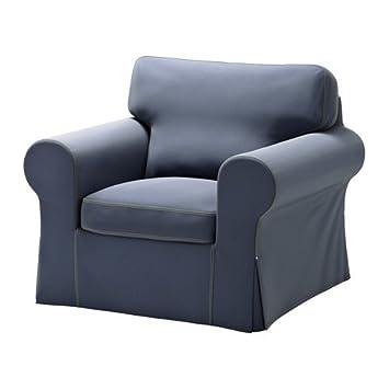 ikea ektorp fauteuil kniva bleu 75 x 181 cm - Fauteuil Ikea Bleu