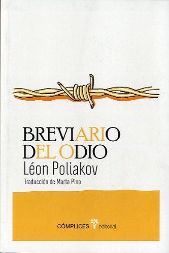 Breviario del odio: El Tercer Reich y los judíos Diacrítica: Amazon.es: Poliakov, Léon: Libros