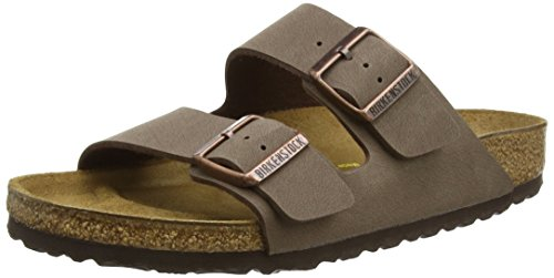 Birkenstock womens Arizona in mocca from Birko-Flor Sandals 37.0 EU N