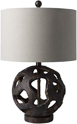 Surya Stonehurst Table Lamp (Surya Bronze Rug)