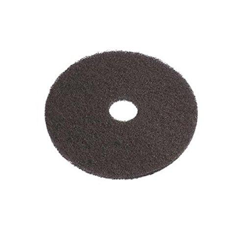 e-line Floor Pads 01.01.07.0020 Super Pad, Polyester, 508 mm Durchmesser, Schwarz, 5 Stück