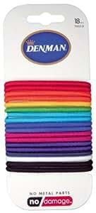 Denman Gomas para el pelo, 18 unidades, multicolor