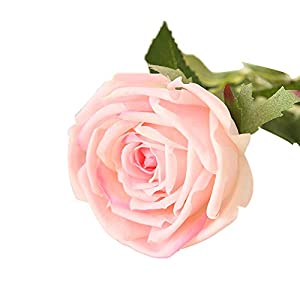 Yamalans 1PC Artificial Rose Flower Blossom Bouquet DIY Wedding Home Garden Floral Decor 48