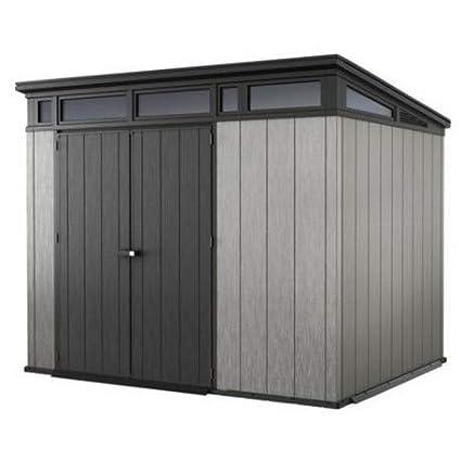Keter - Caseta de jardín exterior Artisan 97. Color gris