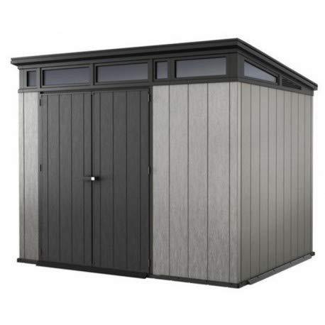 Keter - Caseta de jardín exterior Artisan 97. Color gris: Amazon.es: Jardín