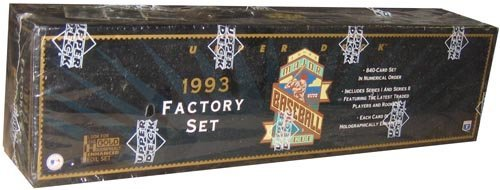 1993 Upper Deck Baseball Factory (MLB 1993 Upper Deck Factory Set)