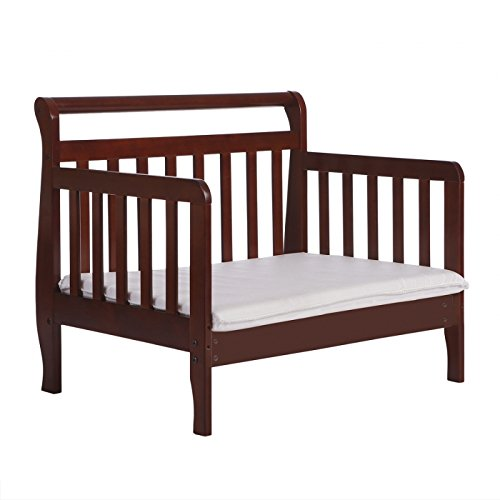 Dream On Me Emma 3 in 1 Convertible Toddler Bed, Espresso by Dream On Me (Image #7)