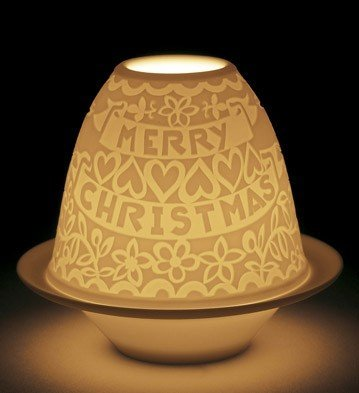 Lladro - LITHOPHANE VOTIVE LIGHT-CUTOUTS CHRISTMAS by Lladro (Image #1)