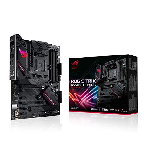 🥇 ASUS ROG Strix B550-F Gaming – Placa Base Gaming ATX AMD AM4 con VRM de 14 Fases