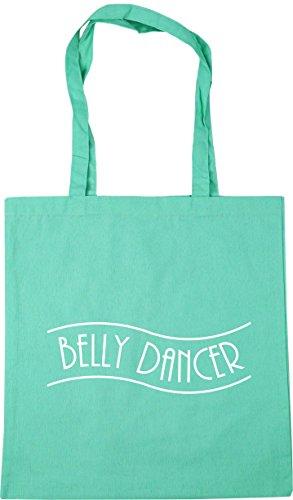 Bolsa Playa nbsp;cm De nbsp;cm Belly Compras Tote Verde 42 X38 10 Menta nbsp;litros Dancer Hippowarehouse xw1WqFUYIx
