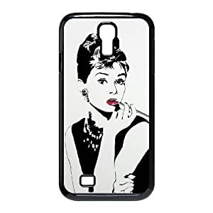 C-EUR Customized Audrey Hepburn Pattern Protective Case Cover for Samsung Galaxy S4 I9500
