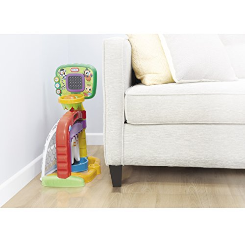 41c5gxJ4b%2BL - Little Tikes 3-in-1 Sports Zone Baby Toy, Infant Toy