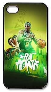 icasepersonalized Personalized Protective Case for iPhone 4/4S - NBA Boston Celtics #9 Rajon Rondo