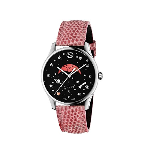 Gucci G-Timeless Black Moonphase Dial Ladies Watch (Gucci Ladies Wrist Watch)