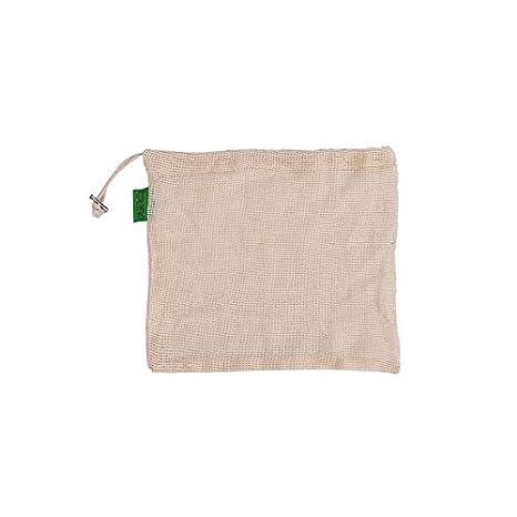 Bolsos reutilizables de la fruta y verdura, bolsos lavables reciclables del almacenamiento del bolso orgánico del algodón que hacen compras