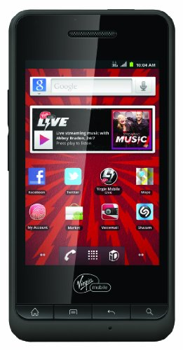 PCD Chaser Prepaid Android Phone (Virgin Mobile) by DCP Products