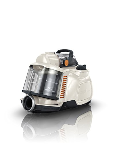 AEG Bagless Vacuum Cleaner, 800 W - Cream
