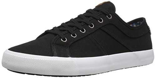 Ben Sherman Men's Jayme Fashion Sneaker, Black, 7 M - Fashion Sherman