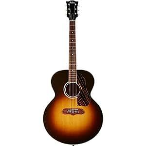 gibson sj 100 super jumbo acoustic electric guitar vintage sunburst finish. Black Bedroom Furniture Sets. Home Design Ideas