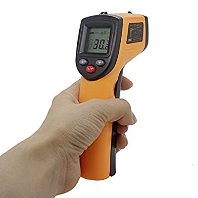 Pancellent Infrared Thermometer -58F~716F(-50C~380C) Non-contact Digital Laser Temperature Gun with LCD Display Measure