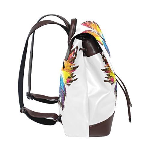 DragonSwordlinsu porté Taille multicolore femme pour au dos main Sac à unique wqTCwFr
