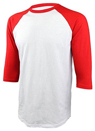 baseball jersey 3 4 sleeve
