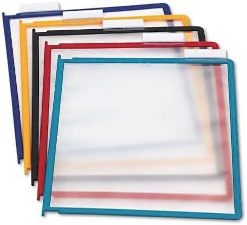 [해외]내구성 있는 설치 교체 패널 다양한 색상 테두리 5팩 (554800) / DURABLE Replacement Panels for Reference System, Assorted Colors, 5-Pack, INSTAVIEW Design (554800)