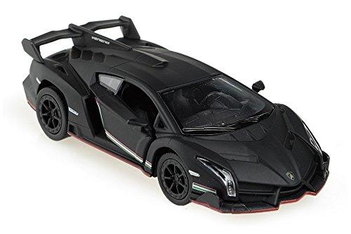 Lamborghini Veneno 1/36 Matt Black (Lamborghini Veneno Model)