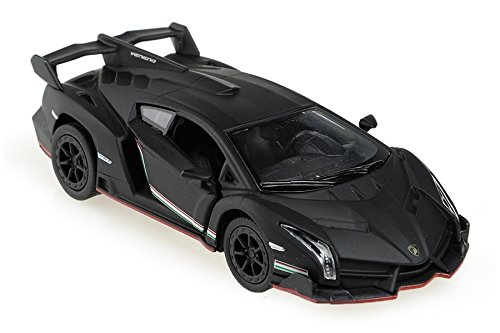 (Lamborghini Veneno 1/36 Matt Black)