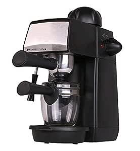Grunkel - Cafetera espresso con presión de 5 bares, para 4 ...