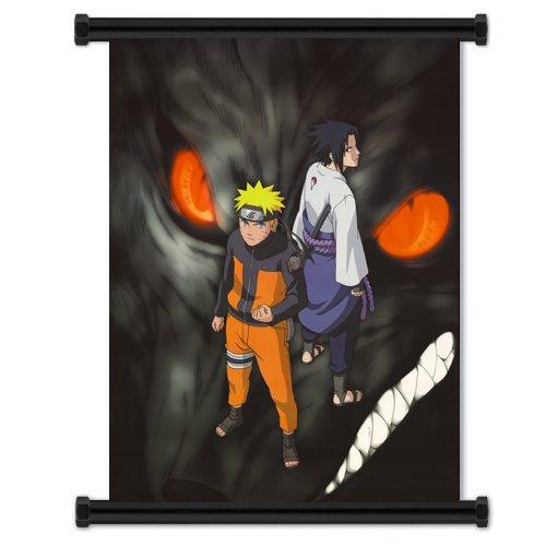 1 X Naruto Shippuden Anime Fabric Wall Scroll Poster