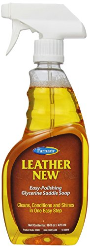 Farnam Leather New Glycerine Saddle Soap, 16 Ounce