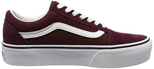 Port Scarpe Rosso Skool True Old White Running Platform Vans Royale Donna nwBgxHZq