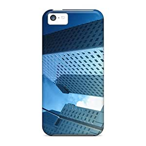 Top Quality Rugged Skycraper Case Cover For Iphone 5c