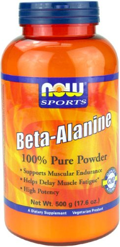 NOW Foods Beta Alanine Poudre 500G