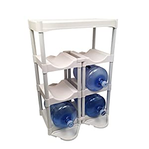 Bottle Buddy Complete Storage System, White