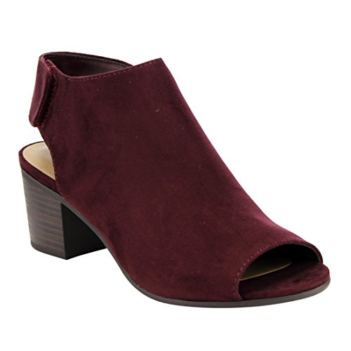 Heel VINO City Bootie Stacked IB69 Size Color Women's 7 Classified Ankle Cutout Block Strap nnSBRx
