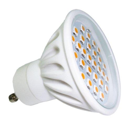 SMD Dicroica blanca de 500lm cerámica 5000K LED 230V luz GU10 6W strQhd