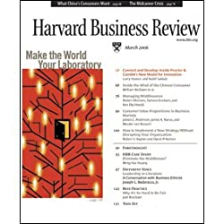 Harvard Business Review, March 2006