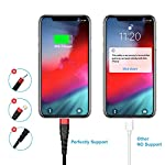 3Pack 6Ft Charger Cable for Long 6 Foot iPhone Charger Cord, Data Sync Fast iPhone USB Charging Cable Cord Compatible…