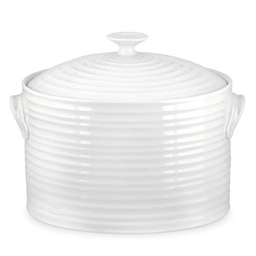 Porcelain Bread Box - Portmeirion Sophie Conran White Bread Bin
