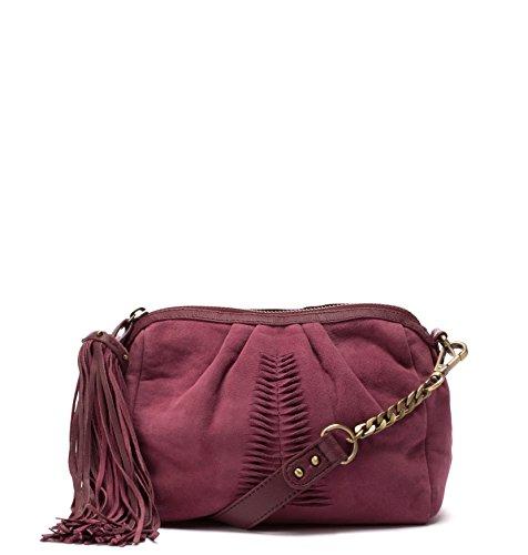 Becksöndergaard Handbag 1704209021 Camoscio Adrienne Mini In Marrone Rustico