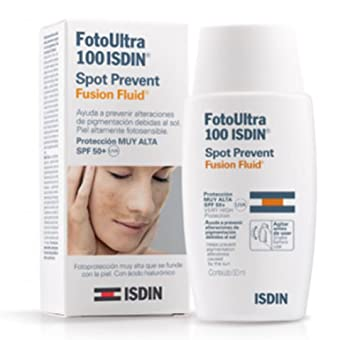Spot Prevent Fusion Fluid SPF 100+, 50 Ml. - Isdin Skin Capital