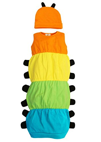 /Raupe Nimmersatt inspiriert Baby Kost/üm-Set Baby Moo Caterpillar Baby Bademantel Set//Kost/üm Outfit/ /Quirky M/ädchen oder Jungen Baby Geschenk von Baby Moo/