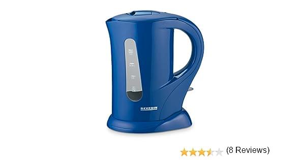 Severin WK 3361 - Hervidor de agua (1 l, 1000 W), color azul: Amazon.es: Hogar