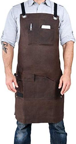 Armor Canvas Pockets Adjustable Straps