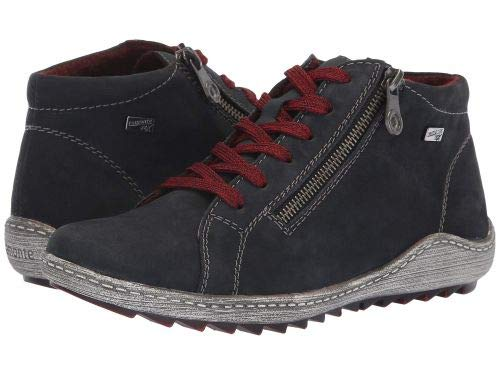 Rieker(リーカー) レディース 女性用 シューズ 靴 ブーツ レースアップブーツ R1470 Liv 70 - Pazifik/Pazifik 1 [並行輸入品] B07H82BWMC 40 (US Women's 8.5-9) M