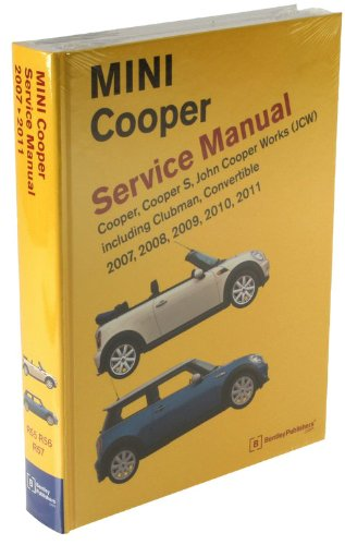 amazon com bentley paper repair manual mini cooper r55 r56 r57 rh amazon com service manual mini cooper s r56 service manual mini cooper s r56